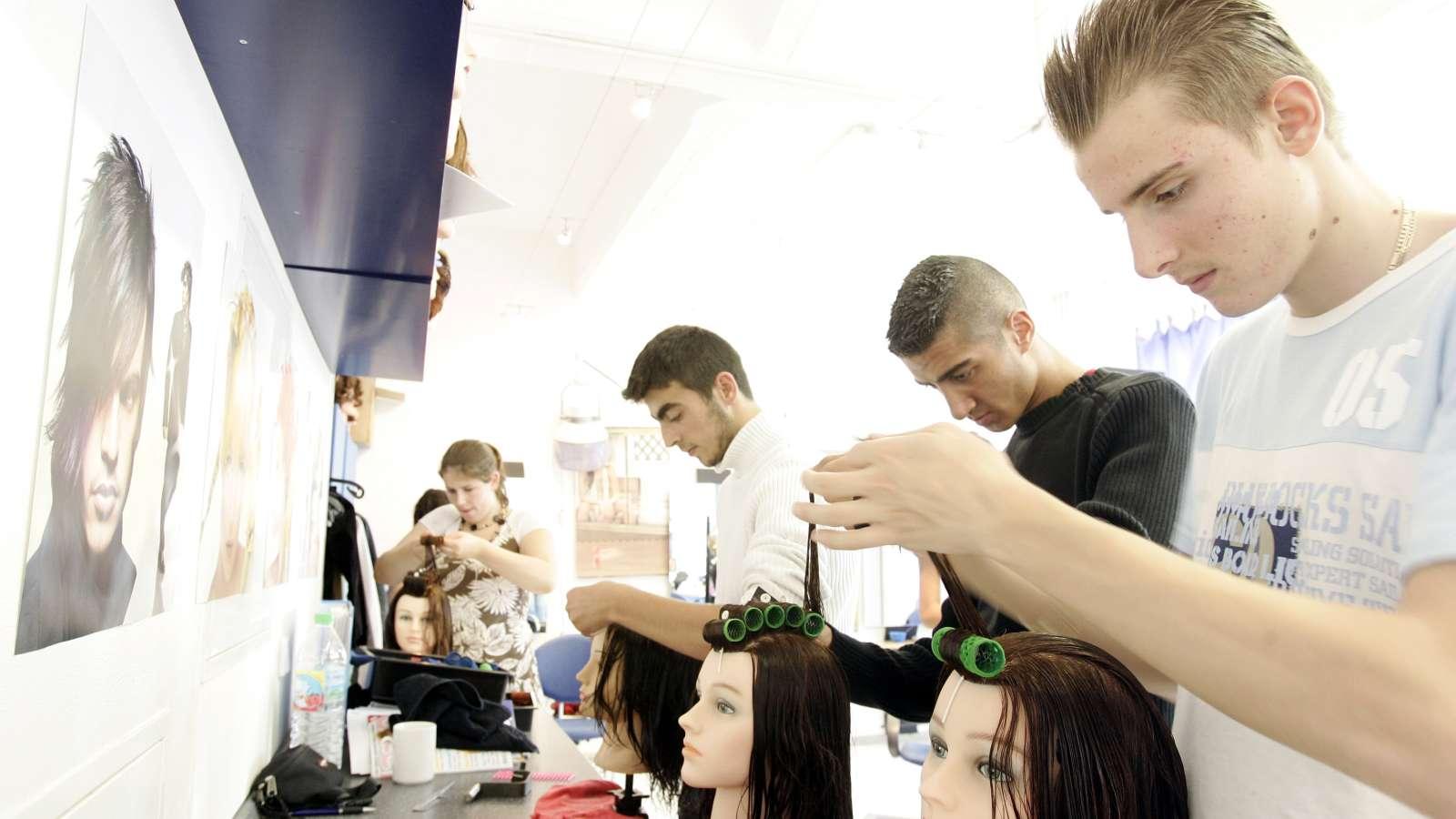 Ausbildung zur Friseurin, Berlin